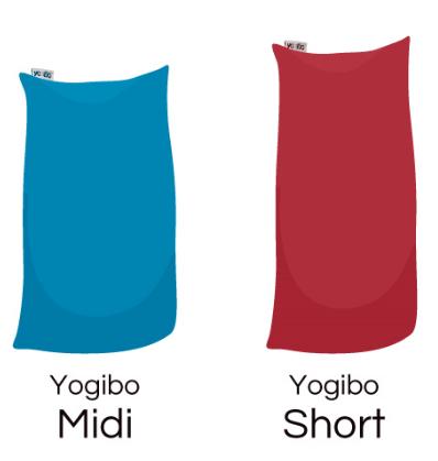 おすすめサイズ:ヨギボーミディとヨギボーショート